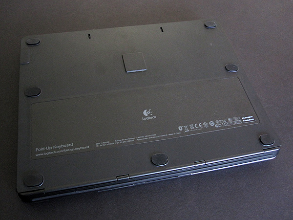 Review: Logitech Fold-Up Keyboard for iPad 2