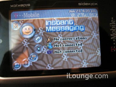 T-Mobile Sidekick 3: Aesthetics and Exterior Feature Changes