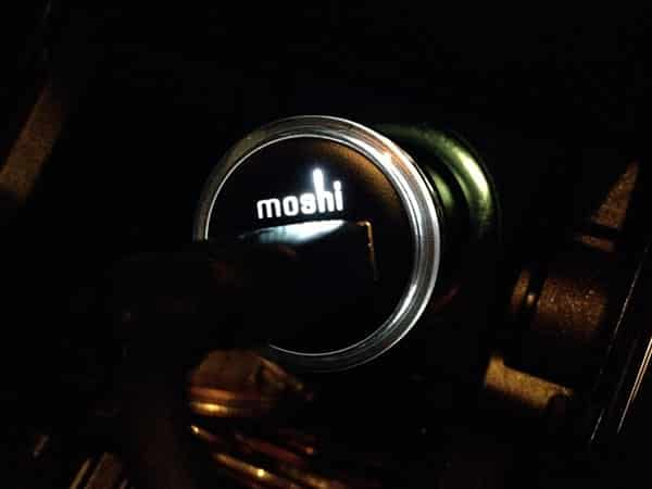 Review: Moshi Revolt 2.1-Amp Car Charger for iPad, iPhone + iPod