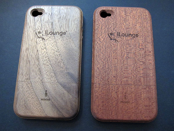 Review: Miniot iWood 4 for iPhone 4