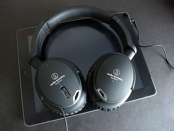 Review: Audio-Technica ATH-ANC9 QuietPoint Active Noise-Cancelling Headphones