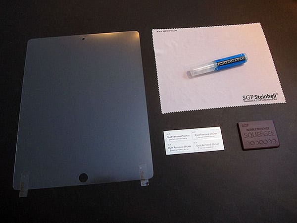 Review: United SGP Steinheil Ultra Crystal + Ultra Fine Screen Protectors for iPad 2
