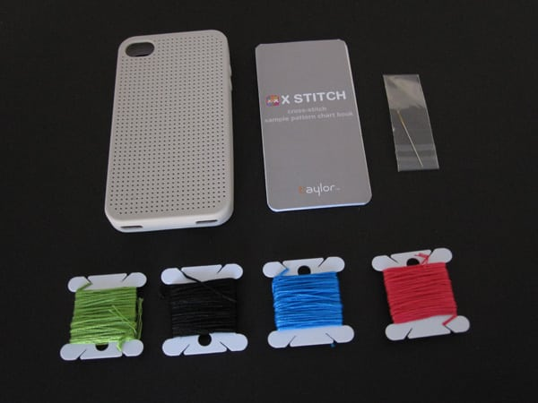 First Look: Taylor Technologies X Stitch for iPhone 4