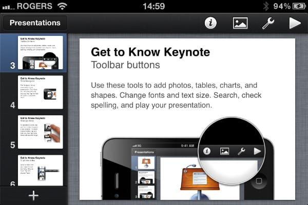 iPhone Gems: Apple's Pages, Numbers, and Keynote 1.4 Reviewed