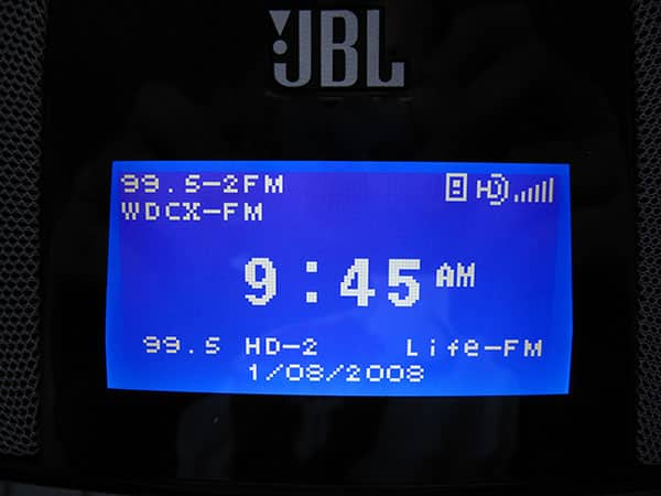 Review: JBL On Time 400iHD HD/AM/FM Speaker Dock for iPod
