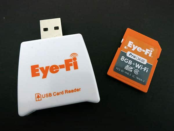 Review: Eye-Fi Pro X2 Memory Card + Eye-Fi App