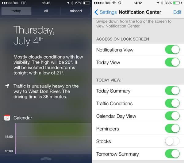 iOS 7: Control Center, Notification Center, Spotlight, Multitasking