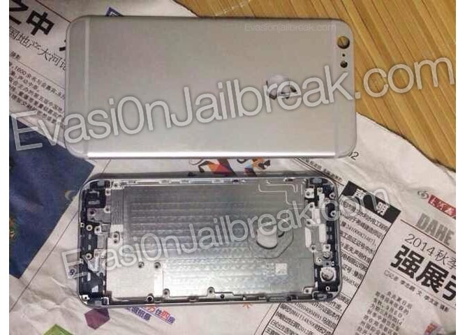 """Alleged rear shell for 5.5"""" iPhone 6 leaked"""