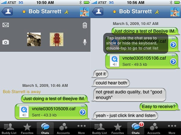 iPhone Gems: Instant Messaging Apps, Take Two
