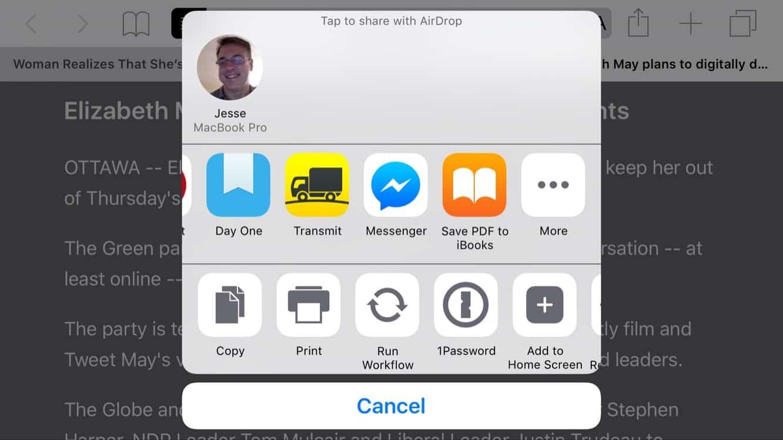 Saving to PDF in iOS 9