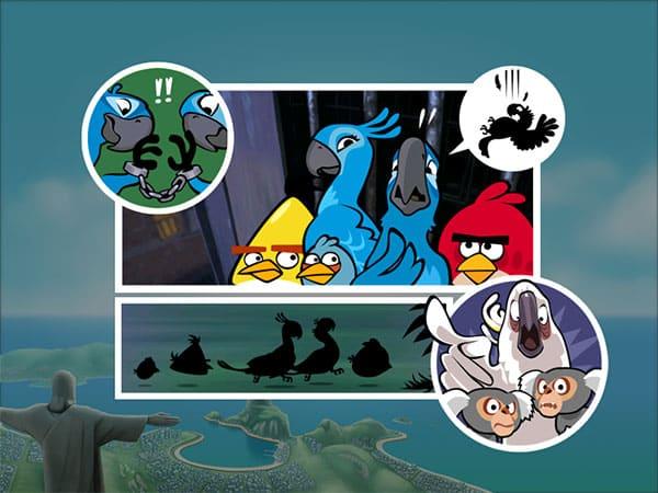iPhone + iPad Gems: Angry Birds Rio / HD, Liqua Pop + War Pinball HD