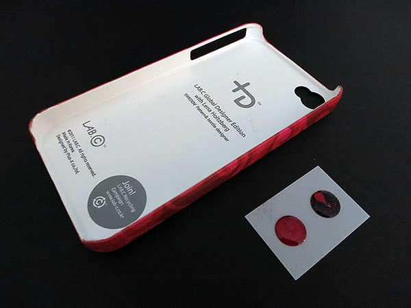 First Look: Lab.C / DMAC +D Cases + Home Buttons for iPhone 4/4S