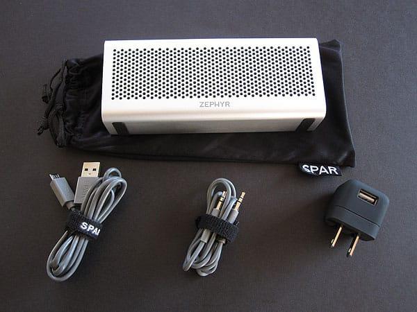 Review: Spar Zephyr 550 Bluetooth Speaker