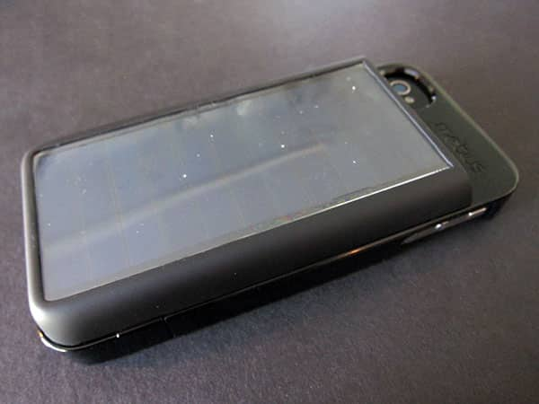 First Look: Eton Mobius NSP300B Solar-Powered Battery Case