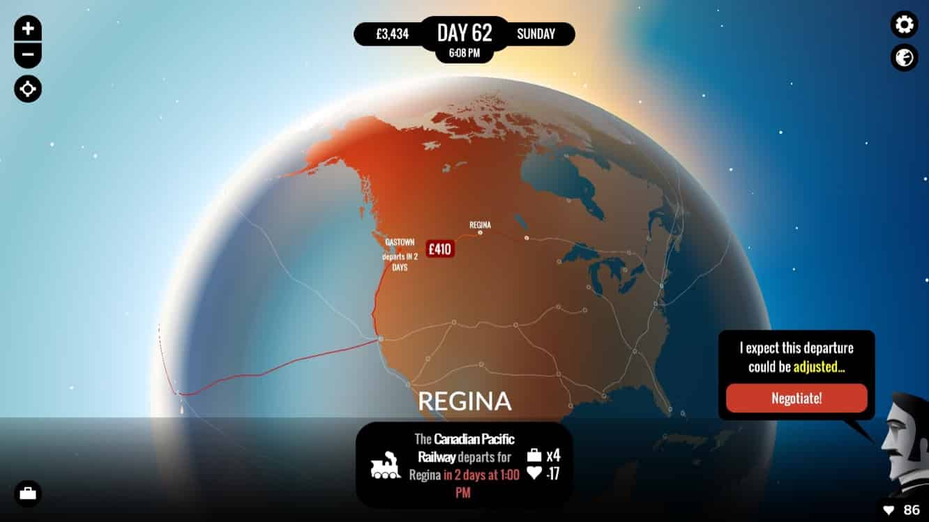 Inkle 80 Days