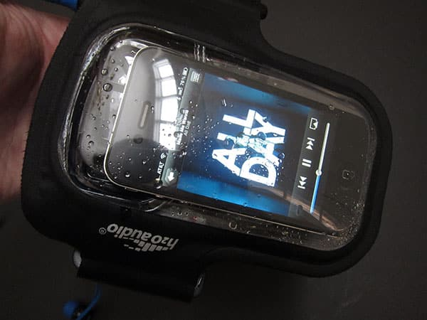 Review: H2O Audio Amphibx Fit Waterproof Armband for iPhone