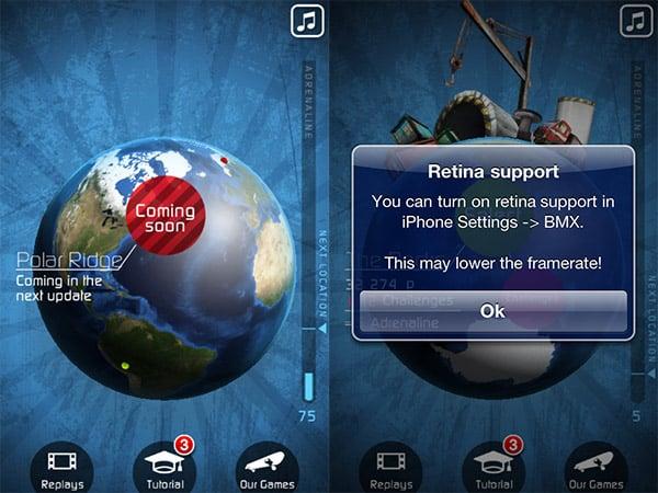 iPhone + iPad Gems: Icebreaker Hockey, Kami Retro HD, Touchgrind BMX + Tuned