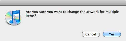 Removing artwork from iPod in iTunes 9