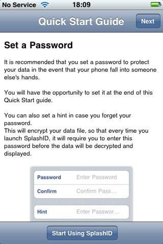 Review: SplashID v4.0.4 by SplashData