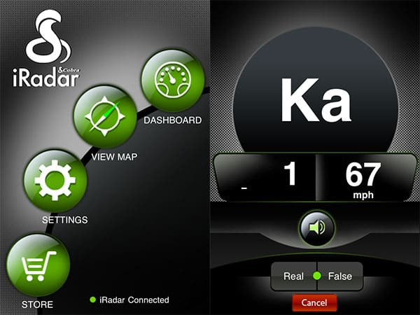 Review: Cobra iRadar Radar/Laser/Camera Detector