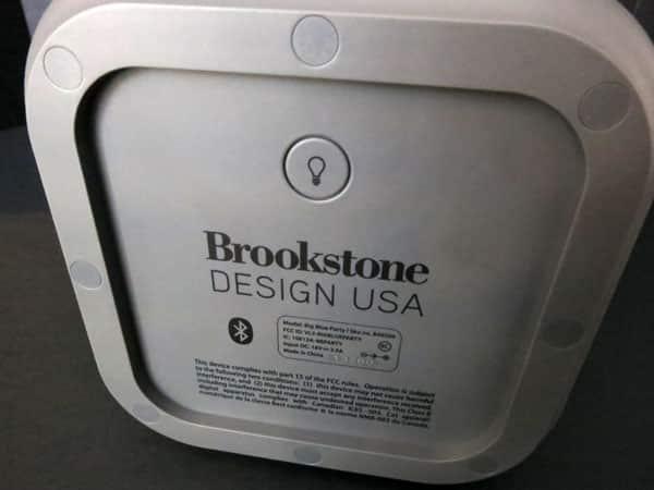 Review: Brookstone Big Blue Party Indoor-Outdoor Bluetooth Wireless Speaker