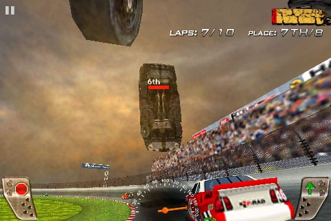 iPhone Gems: Blue Attack, Blue Defense, Zero Chance, Big Fun Racing & Days of Thunder
