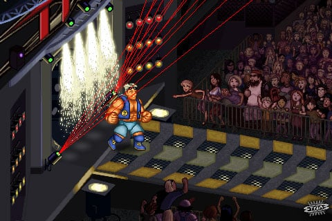 iPhone Gems: Eliss, 3D Brick Breaker, Vans SK8, Wolfenstein 3D, TNA Wrestling, Mega Man II + More