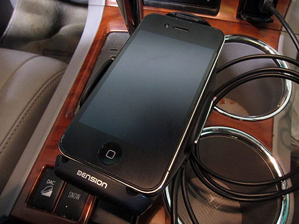 First Look: Dension Car Dock for iPhone