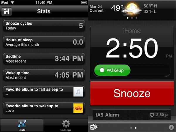 Review: iHome iHome+Sleep App