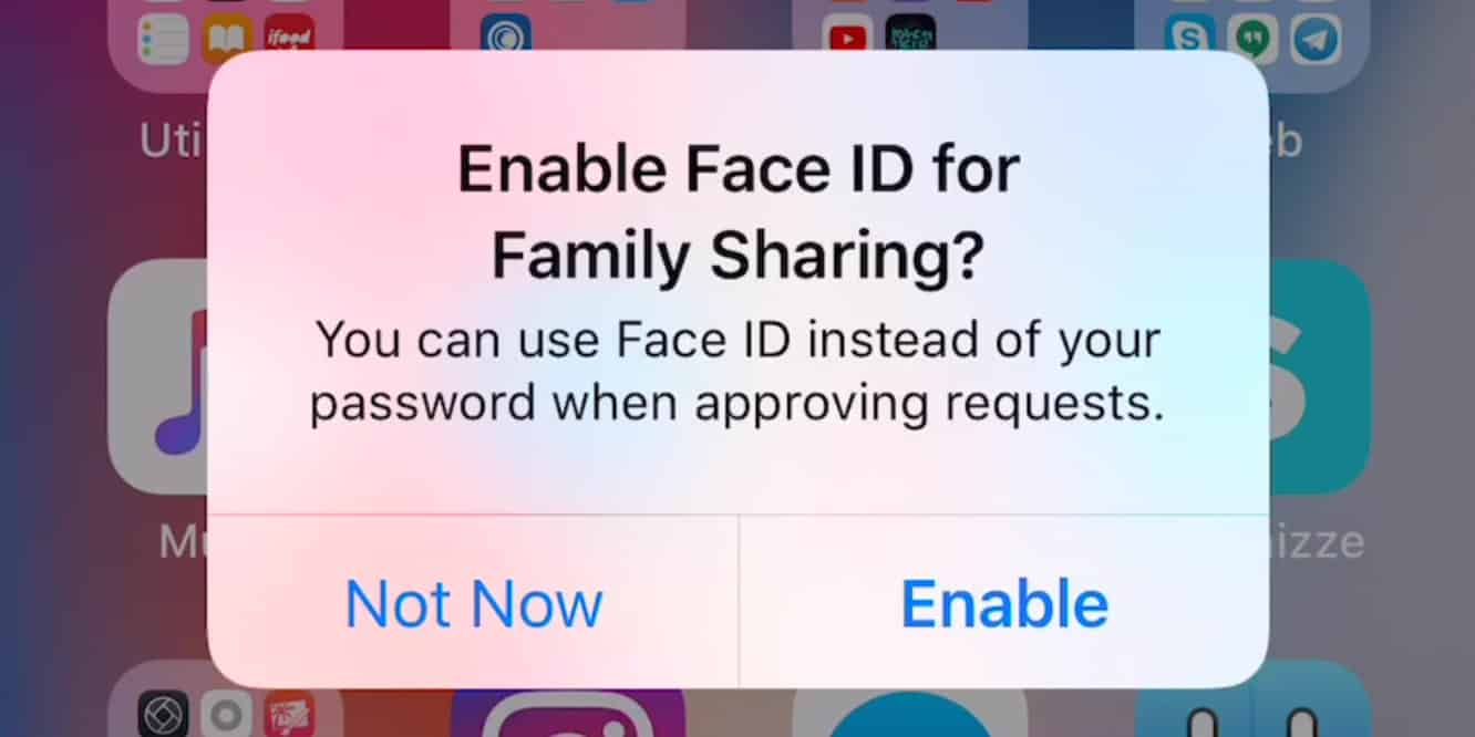 Update in iOS 11.3 will let parents approve 'Ask to Buy' purchases with Face ID