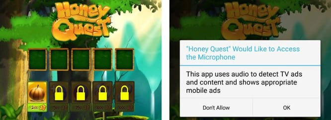 Report: Some iOS games using microphone to track users' TV habits