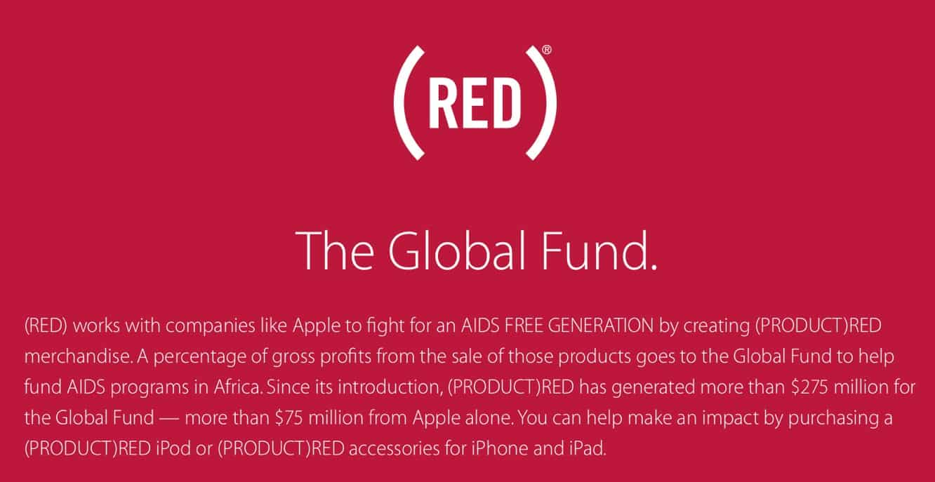 Tim Cook announces $20M raised for (PRODUCT)RED in internal e-mail