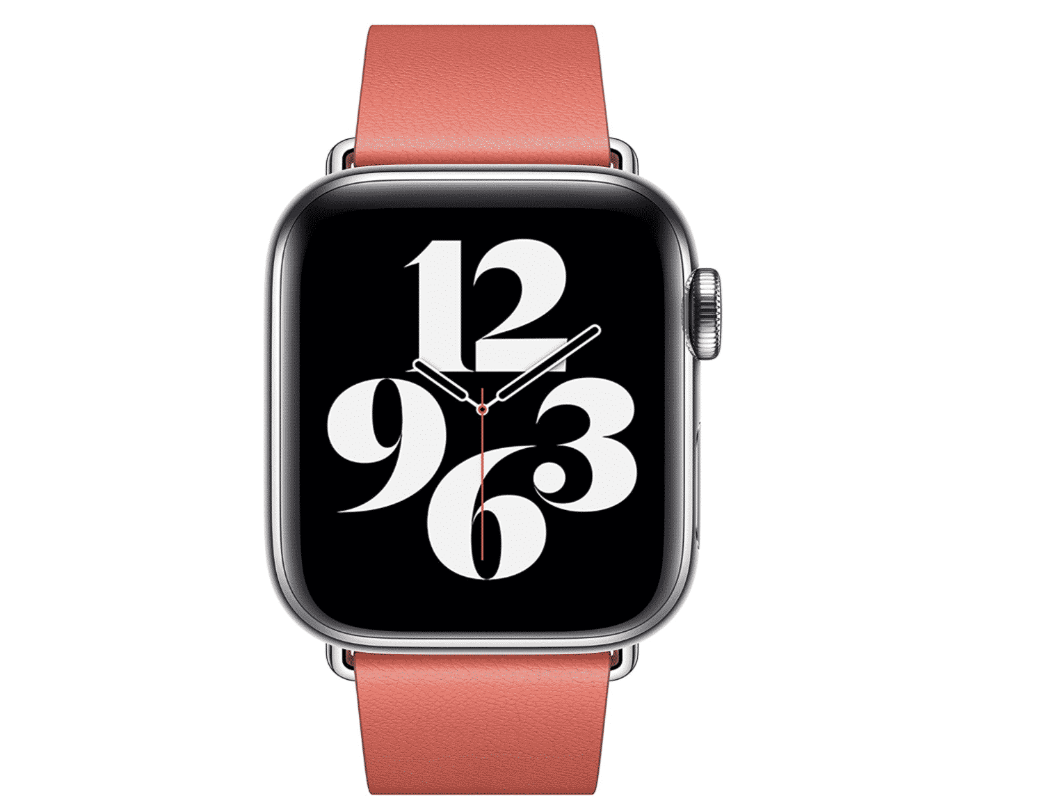Apple Watch Leather Modern Buckle Band