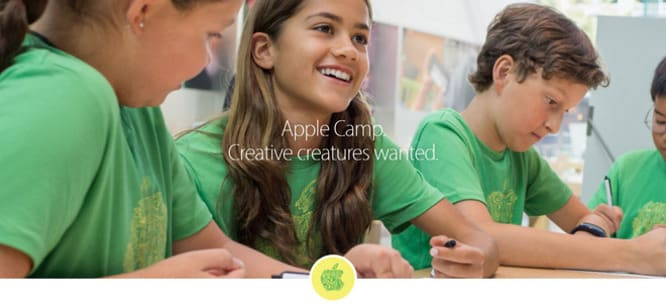 Apple Camp registration for kids' summer classes now open