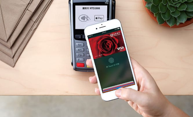 Apple Pay now live in Taiwan