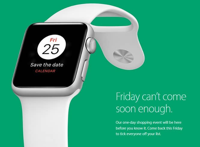 Apple teases one-day Black Friday deals
