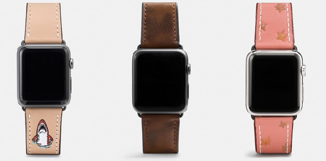 Coach releasing new Apple Watch bands for fall