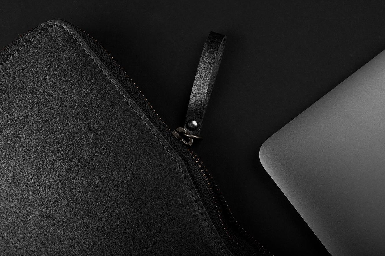 Mujjo Folio Sleeve for 13″ Macbook Air and MacBook Pro