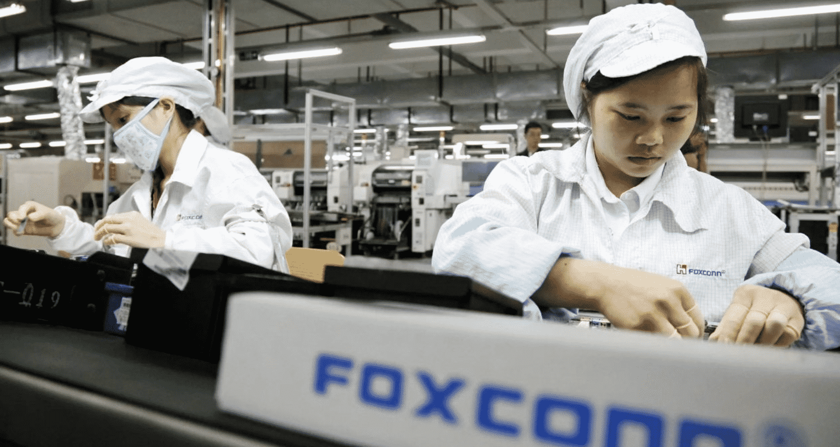 Foxconn iPhone 12 Recruits