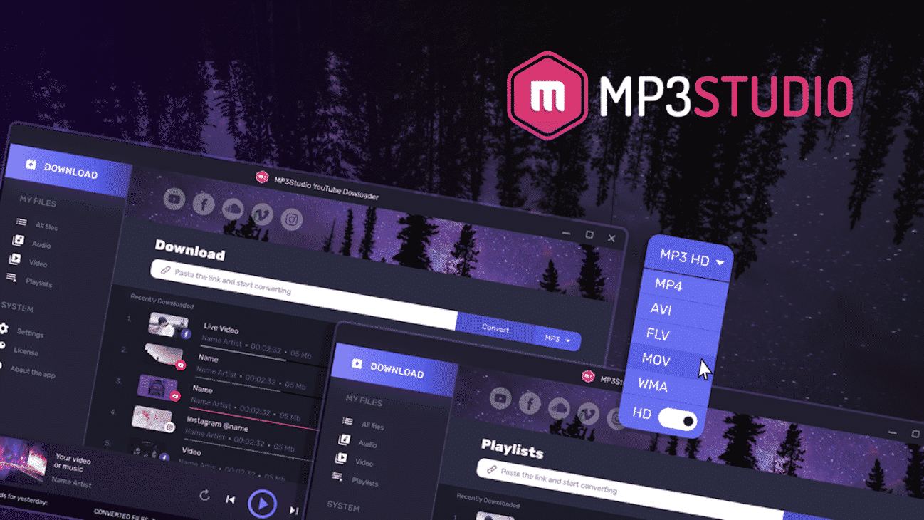 Get hands-on with your favorite music with the MP3 Studio app