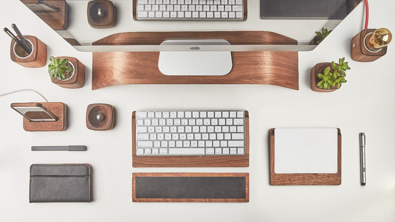 Grovemade Keyboard and Trackpad Trays