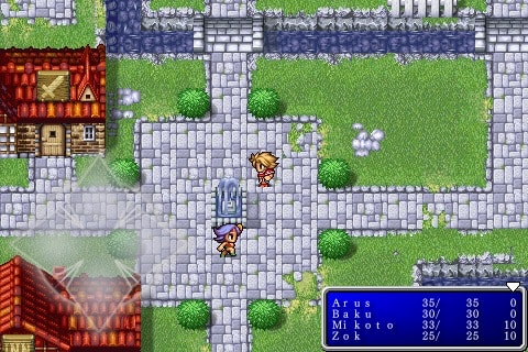 Square Enix releases Final Fantasy + Final Fantasy II