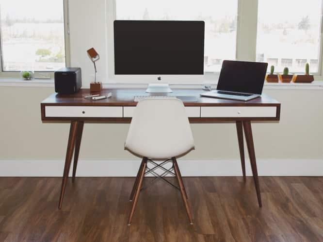Jeremiah Collection Mid Century Desk