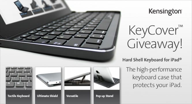 Kensington KeyCover Giveaway – Winners Announced