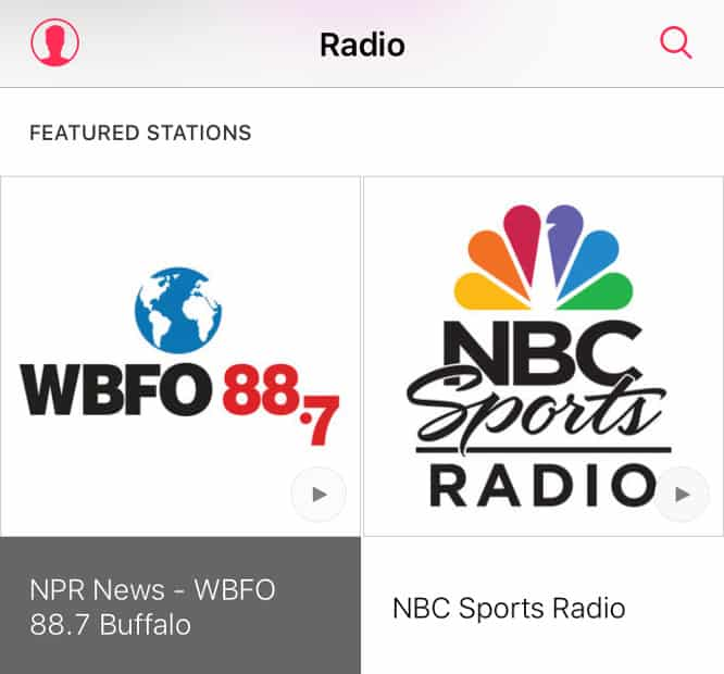 NBC Sports Radio now available in Music app