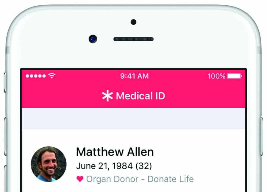 Apple adding organ donor registration to Health app