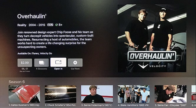 Apple TV's universal search adds US support for Discovery Communications channels and others