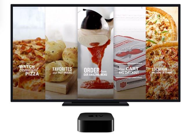 Papa John's releases pizza-ordering app for Apple TV