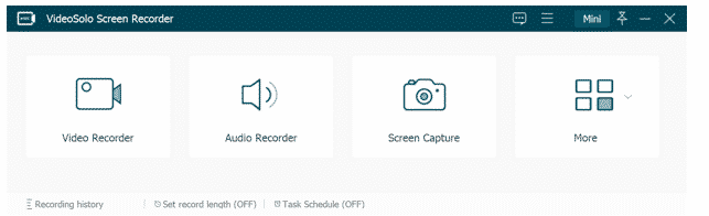 VideoSolo Screen Recorder: Record Any Video from Screen