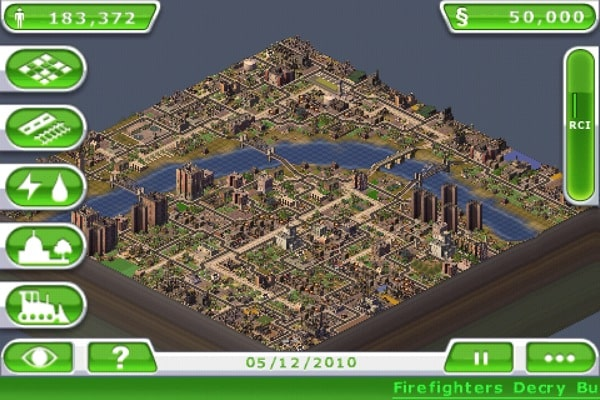 iPhone + iPad Gems: Warpgate, Virtual City, Surviving High School, The Sims 3 Ambitions, SimCity Deluxe, Civilization Revolution